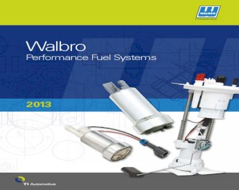 155LPH Performance Intank Electric Fuel Pump Replaces Walbro 5CA249-2