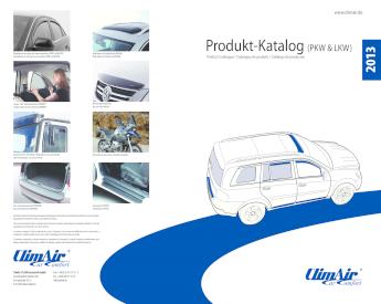 ClimAir Windabweiser PROFI vorne VW Caddy Typ 9KV,9KVF VW Polo III FL schwarz