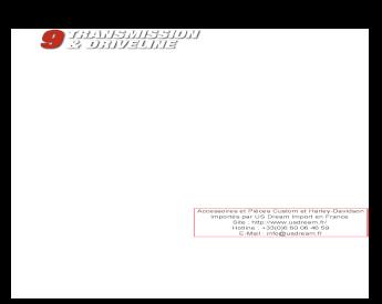 .015 Shim P//N 6752 NOS OEM Harley Davidson Shifter Fork