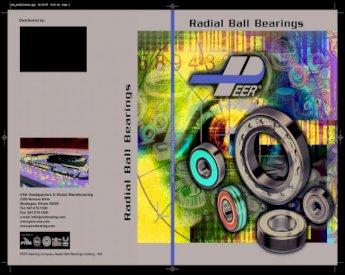 "88513 MAX BEARING RADIAL BALL BEARING 4-5//8/"" OUTSIDE DIAMETER"