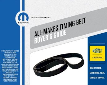 Magneti Marelli by Mopar 1AMTB00258 Engine Timing Belt