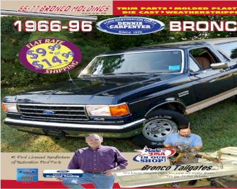 NOS New OEM Ford F150 Quarter Molding Black Chrome F2TZ-9929039-AY