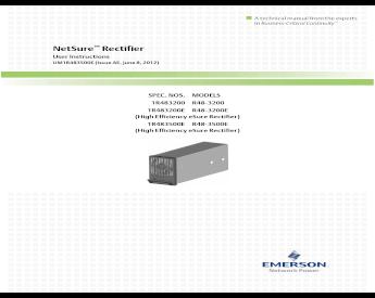 Emerson Netsure R48-1800 48V 1700W Rectifier Module