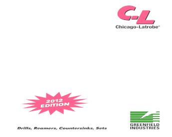 """CHICAGO-LATROBE 54024 #14 3-3//8/"""" Cobalt 135 Deg Jobber Length Drill Bit"""
