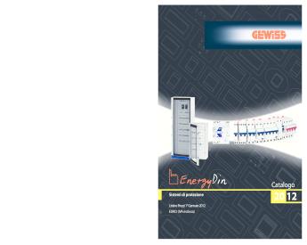 N 4 SUPP GEWISS GW49201 PLASTICA CANALINA ORIZZ. CVX